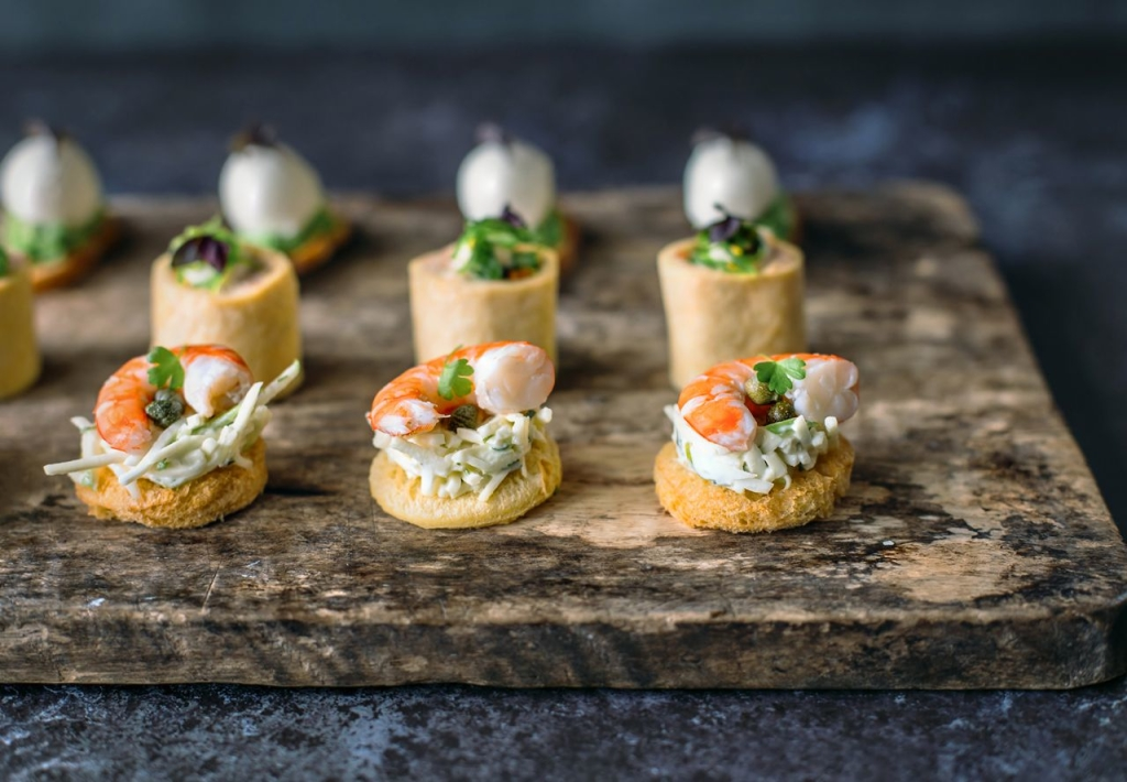 Personal chef food photo gallery for Canape catering