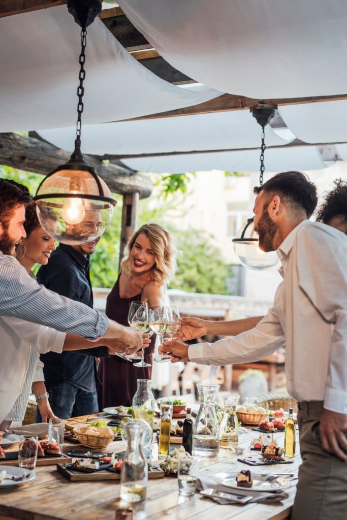 Dinner party ideas At Your Table catering and personal chefs
